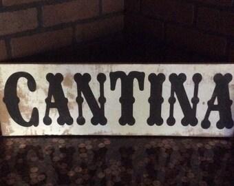 Cantina Sign