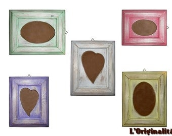Colorful Picture Frames Set