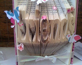 Friends Folded Book Art