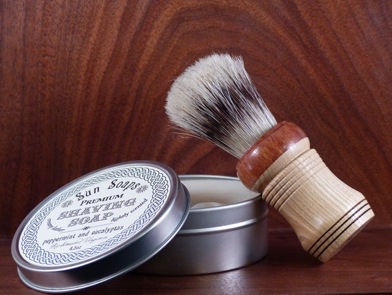 Vegan father's day gifts: Vegan Shaving Kit
