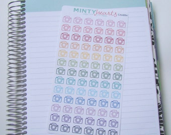 CAMERA // Camera Planner Stickers
