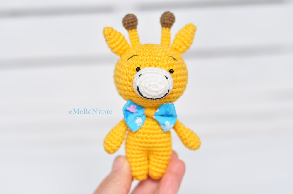 Cuddly Amigurumi Giraffe : Amigurumi Giraffe Crochet Toy Giraffe Plush Giraffe by ...