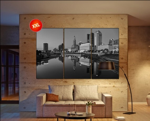 Columbus  canvas wall art skyline Columbus wall decoration Columbus canvas wall art art Columbus  wall decor canvas wall art art