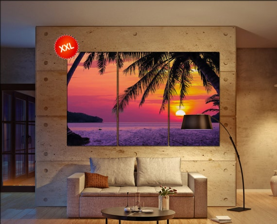tropical Beach  canvas tropical Beach wall decoration tropical Beach canvas art tropical Beach large canvas  wall decor