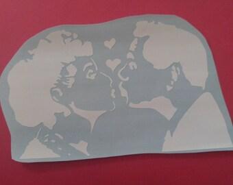 I Love Lucy Vinyl Sticker