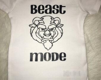 Beast mode baby boy shirt