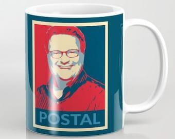 Newman Postal - 11 oz or 15 oz Ceramic Mug