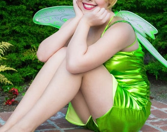 Tinkerbell costume adult dress tink cosplay fairy