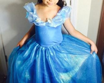 Cinderella 2016 dress costume girl size