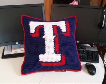Texas Rangers Pillow
