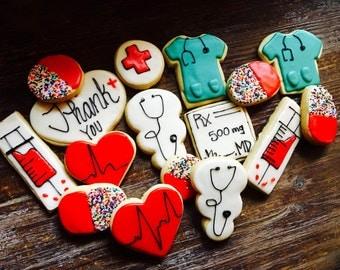 Doctor Nurse Medical Cookies