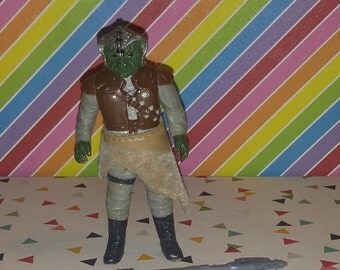 Vintage 1983 Kenner Star Wars Return of the Jedi Klaatu Figure Complete