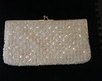 Vintage beaded evening handbag