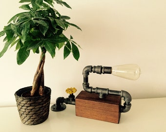 Industrial/Modern/Rustic Wall Light Fixture - Wall Sconce - Table Lamp - Desk Lamp - Wall lighting
