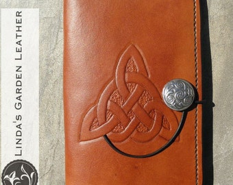 "Handmade Leather Kindle Fire HD 6"" Cover"