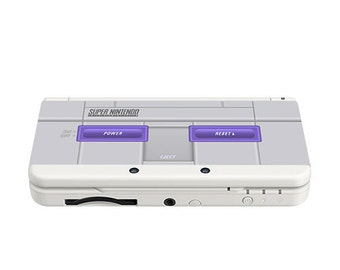 Super Nintendo (American NTSC) New 3DS and New 3DS XL Skin