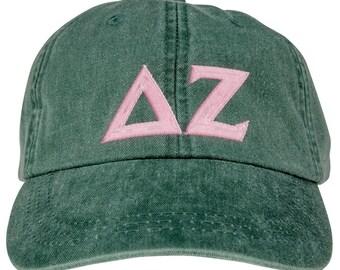 Delta Zeta Lettered Premium Pastel Hat