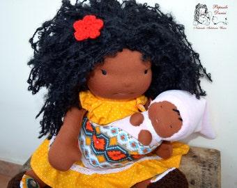 Lulu- custom Waldorf doll