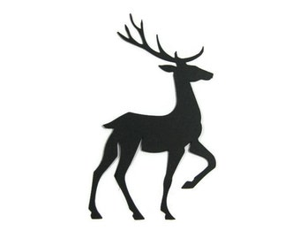 Extra Large Deer Die Cut Set of 8