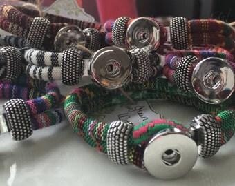 Woven Snap Bracelets