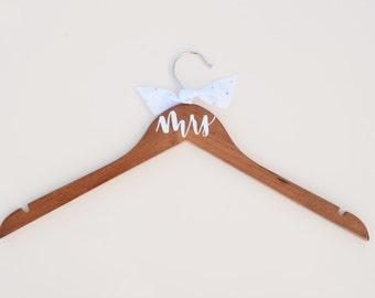 Mrs Wooden Dress Hanger