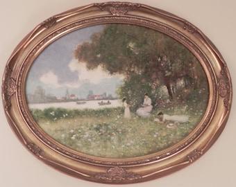 James G Llewelyn Oil Painting