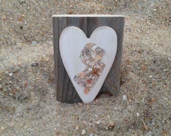 Mini Wood Jersey Art, Jersey Art, Reclaimed Jersey Art, New Jersey Art, Wood Jersey Art, Jersey shore Art,