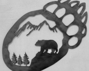 Bear Paw Nature Scene