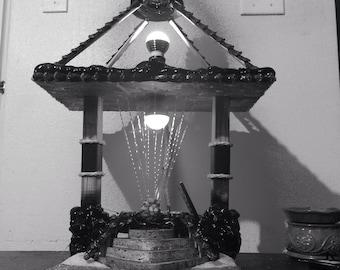 Pine Heaven Seascape Rain Lamp T.M.