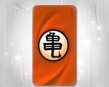 Goku Kame Turtle Uniform Gadget Personalized Tech Gift Usb Portable External Battery Charger Pack for Cell Phone Power Bank