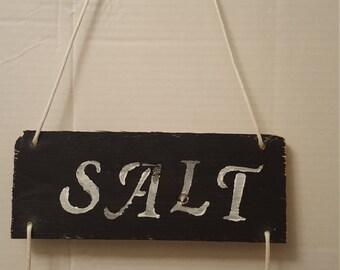 SALT LIFE pallet sign