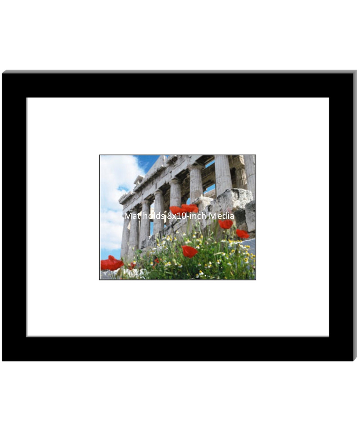 8x10 Inch Mat With 16 By 20 Inch Picture Frame