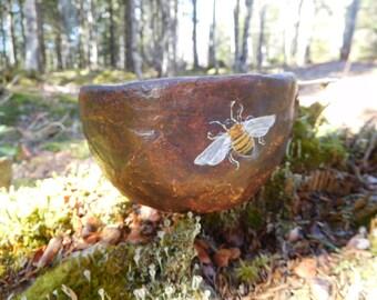 Shamanic Way of the Bee Medicine Bowl