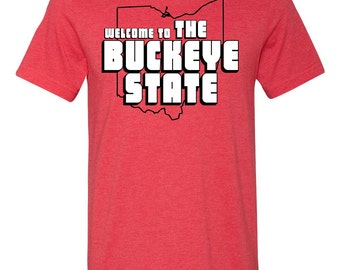 The Buckeye State Postcard T-Shirt