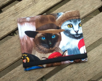 wallet Siamese cat