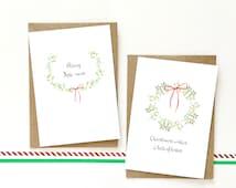 Merry Christmas Card Pack, Pack, Multipack, Multi pack, Kissmas