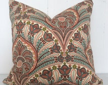 Dusty hues outdoor cushion cover - Free Shipping Australia Wide