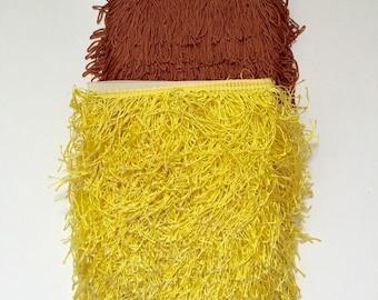 Vintage Upholstery Tassel Fringes.