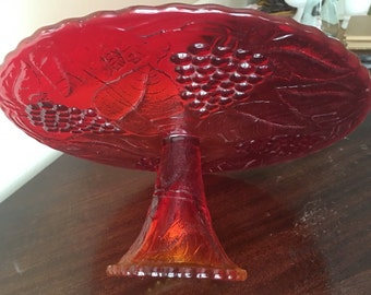 Red Cake Stand Etsy