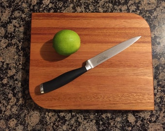 Free U.S. Shipping - Mahogany cutting board
