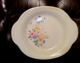 Vintage Edwin Knowles Semi Vitreous Serving Platter 43-7 Porcelain
