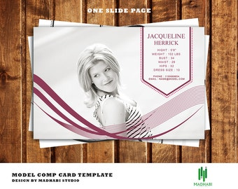 comp card template model comp card fashion model comp card