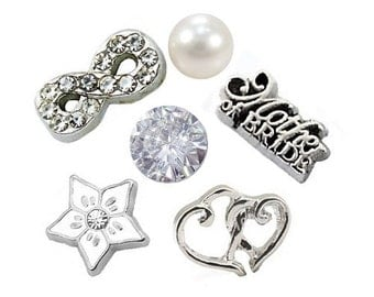 Mother of the Bride Set Floating Charm