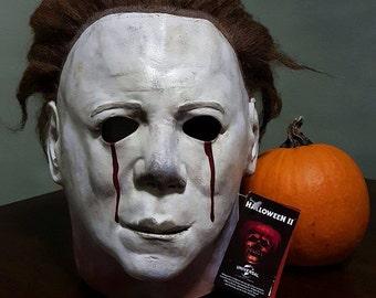 Halloween 2: Michael Myers Custom Painted Mask