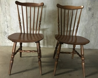 Pair of chairs Baumann