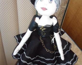 Bella Ooak art doll