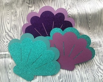 Cardstock Seashells