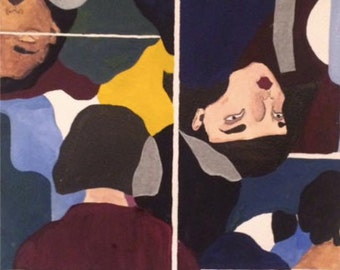 Gouache Painting Print