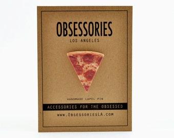 Pepperoni Pizza Pin Pizza Slice Of Pizza Lapel Pin Pizza Brooch Pizza Button Pinback Pizza Accessories Pizza Jewelry Grunge Pizza Gift Idea