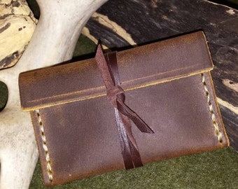Oil Tanned Cowhide Leather Case